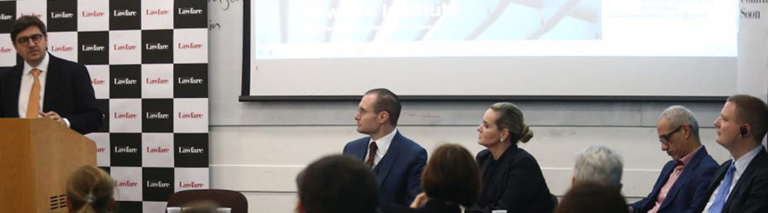 Valeska Teixeira Zanin Martins, Cristiano Zanin Martins and Rafael Valim launched the initiative at the University of London (SOAS).